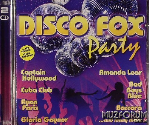 VA   Disco Fox Party 2CD 2008 tRg Music Release preview 0